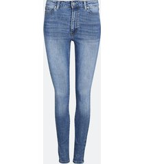high waist hailey skinny jeans - denim
