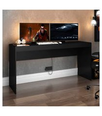 mesa para escritório computador gamer djd móveis me401 preta
