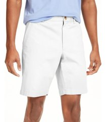 """club room men's regular-fit 7"""" 4-way stretch shorts, created for macy's"""