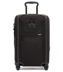 men's tumi alpha 3 international dual access expandable carry-on - black