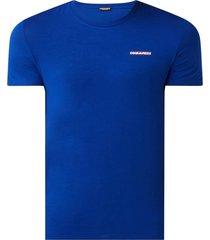dsquared2 t-shirt kobalt blauw