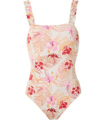 clube bossa lavelo swimsuit - neutrals