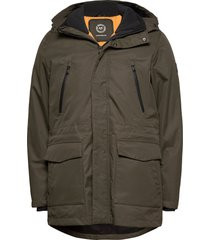 technical 3-in-1 jacket parka jas groen lindbergh