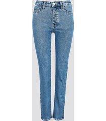 straight selma jeans - blå