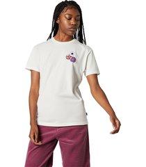 converse camiseta logo distort