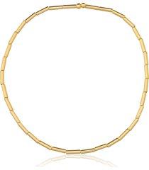tornozeleira rincawesky silicone tubinho dourado