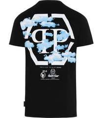 philipp plein clouds t-shirt
