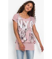 2-in-1 shirt met print
