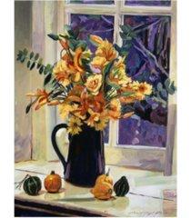 """david lloyd glover september still life canvas art - 37"""" x 49"""""""
