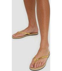 havaianas you metallic flip-flops