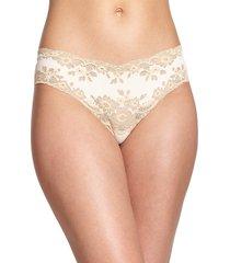 cosabella women's italia lace thong - ivory