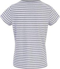 shirt van 100% katoen met ronde hals van peter hahn grijs