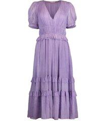 lavender elodie dress