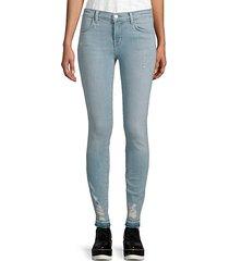 mid-rise super beach line jeans