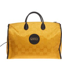 borsa uomo a mano in nylon gucci off the grid