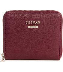 guess cami small zip around wallet