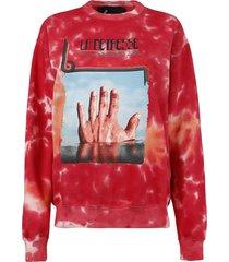 l'orange amnesia pullover jumper, red