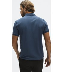 recycled piqué polo shirt