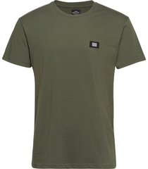 bork thur badge t-shirts short-sleeved grön mads nørgaard