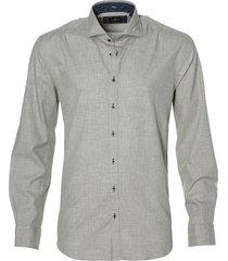 jac hensen overhemd - modern fit - grijs