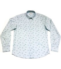 camisa celeste prototype joint