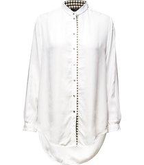 c-arya shirt overhemd met lange mouwen wit diesel women