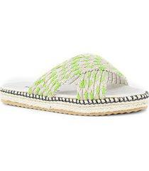 sandalia verde euro confort
