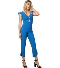macacã£o feminino sailor azul - azul - feminino - dafiti