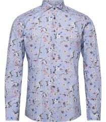 bs halle skjorta business blå bruun & stengade