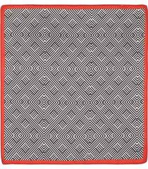 pañuelo de bolsillo con un diseño geométrico para hombre 04138