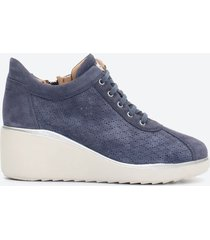 tenis casuales mujer stonefly z0qu azul textil
