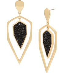 jessica simpson geometric orbital earrings