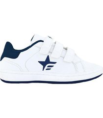 zapatilla blanca footy ba triple escolar 21644