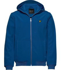 softshell jacket dun jack blauw lyle & scott