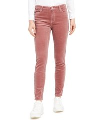 oat high-rise blush skinny corduroy pants