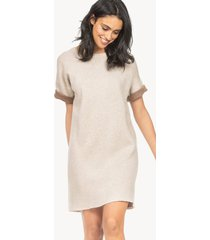 lilla p reversible rolled sleeve dress