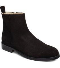 bond ankle boot suede shoes chelsea boots svart royal republiq
