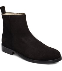 bond ankle boot suede stövletter chelsea boot svart royal republiq
