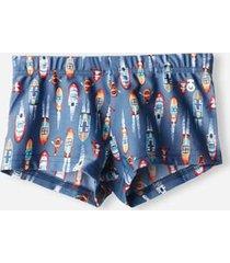 calzedonia boys' swimming shorts panama boy blue size 8