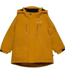 helicopter winter jacket outerwear snow/ski clothing snow/ski jacket geel isbjörn of sweden
