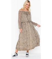 neo noir adora snake dress loose fit dresses