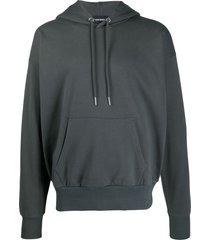 diesel jersey hoodie - grey