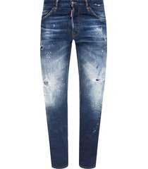 'cool guy jean' raw edge jeans