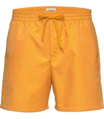 roy swim shorts badshorts orange wood wood