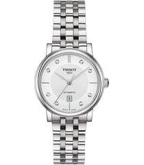 women's tissot t-classic carson diamond bracelet watch, 30mm