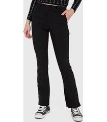 pantalón  io pitillo negro - calce ajustado