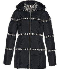 giacca trapuntata con bouclé (nero) - bpc selection premium