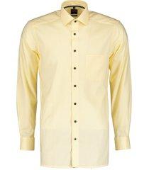 olymp overhemd - modern fit - geel