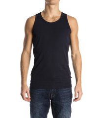 garage singlet blue navy
