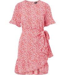 klänning vmhenna 2/4 o-neck short dress